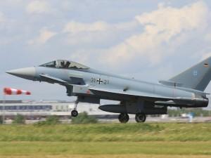 Истребитель Eurofighter ВВС Германии. Фото - Wo st 01