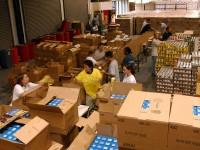 Упаковка гуманитарной помощи