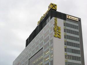 Центральный офис Raiffeisen Bank, a.s. в Праге