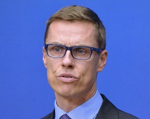 Александер Стубб, премьер-министр Финляндии. Фото - Frankie Fouganthin
