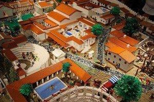 Помпеи из Lego