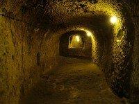 Тоннель подземного города Деринкую. Фото Bjørn Christian Tørrissen