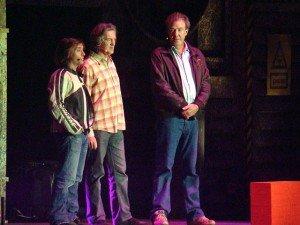 Ричард Хаммонд, Джеймс Мэй и Джереми Кларксон. Фото Phil Guest