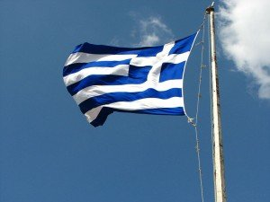 Флаг Греции. Фото fdecomite