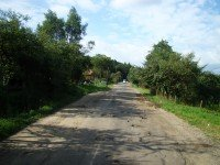 Дорога в Украине. Фото Silar