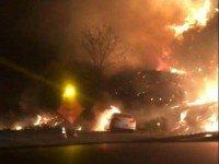 Пожар в Калифорнии. Фото California Fire Museum