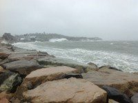 "Ураган ""Сэнди"" в штате Массачусетс. Фото Ashstar01"
