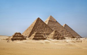 Пирамиды в Гизе. Фото Ricardo Liberato [CC BY-SA 2.0]