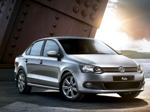 VW Polo Sedan. Фото Volkswagen