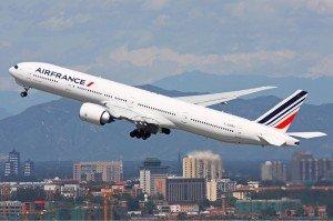 Самолет Air France. Фото Duan Zhu
