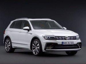 Volkswagen Tiguan 2. Фото VW