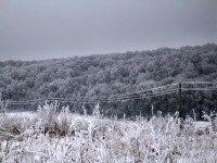 Снег в Украине. Фото Nikolya Magukov