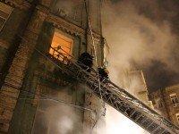 Пожар в Киеве. Фото mns.gov.ua