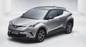 Toyota CH-R. Фото Toyota