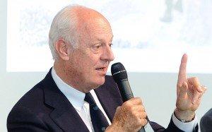 Специальный посол ООН по Сирии Стеффан де Мистура. Фото Heinrich Böll Stiftung