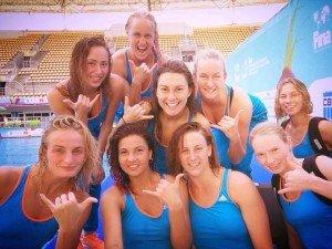 Женская сборная Украины по синхронному плаванию. Фото noc-ukr.org