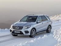 Mercedes-Benz GLE текущего поколения. Фото - Mercedes-Benz