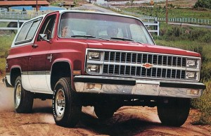 Chevrolet Blazer K5. Фото Chevrolet