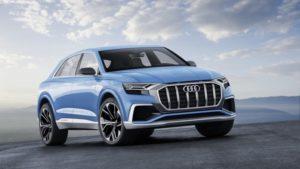 Концепт Audi Q8. Фото Audi