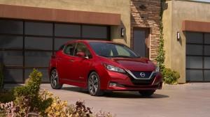 Nissan Leaf 2018. Фото Nissan