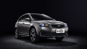 Geely S1. Фото Geely