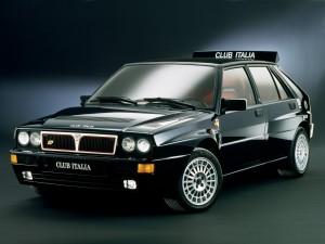 Lancia Delta HF Integrale. Фото Lancia