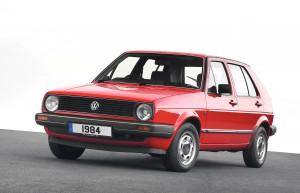 Переднеприводный Volkswagen Golf 2. Фото Volkswagen