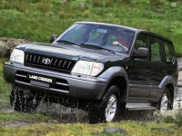 Toyota Land Cruiser Prado. Фото Toyota
