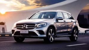 Mercedes-Benz GLC . Фото Mercedes