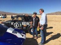 Джереми Кларксон на съемках The Grand Tour. Фото desertdingo