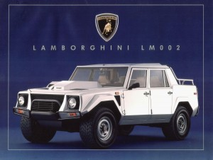 Lamborghini LM002. Фото Lamborghini