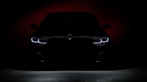 BMW 7-Series teaser. Фото BMW