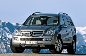Mercedes-Benz GL. Фото Mercedes-Benz