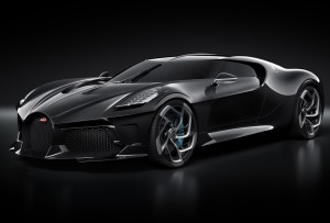 Bugatti La Voiture Noire. Фото Bugatti