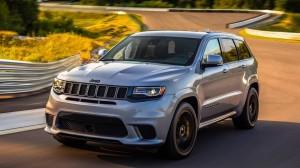 Jeep Cherokee Trackhawk. Фото Jeep