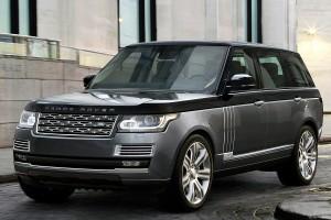 Range Rover SVA. Фото Range Rover