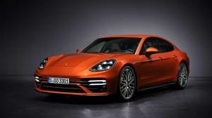 Porsche Panamera Turbo S. Фото Porsche